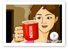 Nescafe Mild : Animatic