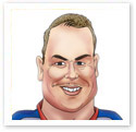 Chris Hoy : Sports caricature