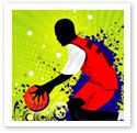 Modern Basketball : Digital Illustration
