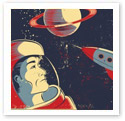 Outer Space : Scientific Illustration