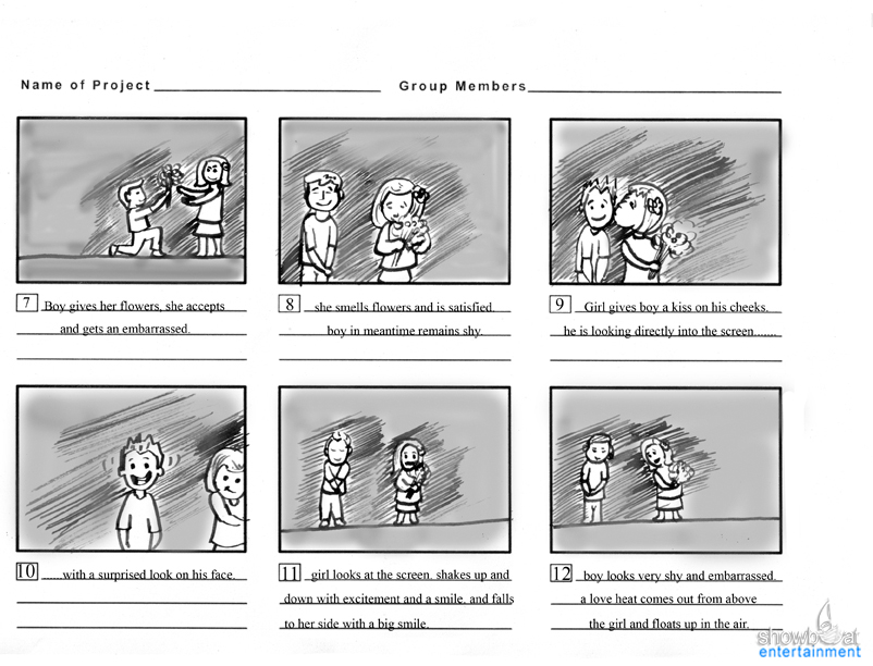 Storyboards Gallery | Commercial Storyboard artists.